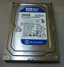 """160gb Western Digital WD 1600 AAJS - 22l7a0 DCM: harnhtjmhn Hard Disk SATA da 3.5"""""""
