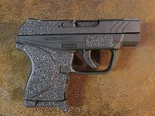Black Textured Rubber Grip Enhancements (Peel & Stick) for Ruger LCP II .380 ACP