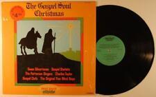 The Gospel Soul of Christmas LP NM Gospel Clefs Five Blind Boys Swan Silvertones