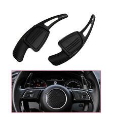 Al alloy Black Paddle Shifter Extension For Audi A3 A4L A5 A6L A8 S3 S4 Q5 Q7 TT