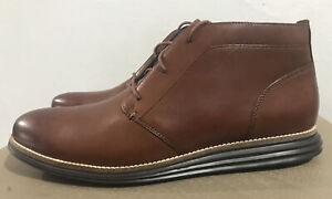 Cole Haan Men's OriginalGrand Chukka Boot Brown Style C28214 Size 12 M