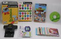 GameCube Animal Crossing e+ w/ Card e Reader+ & 41Cards Japan import Nintendo GC
