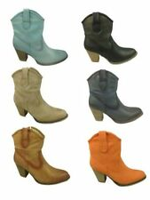 Mid Heel (1.5-3 in.) Zip 100% Leather Boots for Women