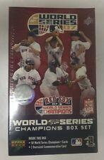 Boston Red Sox 2007 World Series Champions Upper Deck Baseball Card Set Sealed