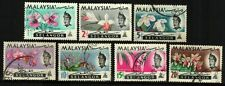 Malaysia 1965 Orchids Series - Selangor ~ Used
