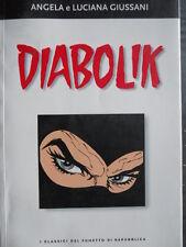 I CLASSICI DEL FUMETTO Repubblica - DIABOLIK A. L. Giussani 2003   [G332]