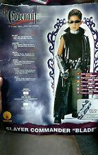 Deluxe Slayer Commander Blade Boys Halloween Costume Size Medium 8-10