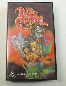 VHS The Dark Crystal 1982 Jim Henson Video Tape