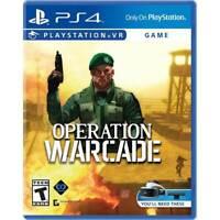 Operation Warcade - PlayStation 4 PS4 VR Virtual Reality NEW