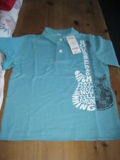 NWT  BOYS  GYMBOREE  SHORT  SLEEVED  POLO TOP    AGE 5 YEARS