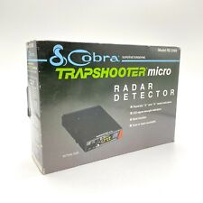 New listing Cobra Trapshooter Micro Radar Detector Rd 3160 Complete in Box