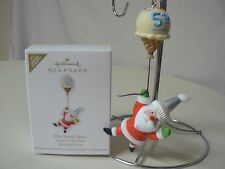 Hallmark Ornament 2011 FIVE SWEET YEARS NEW Santas Sweet Ride Special Edition