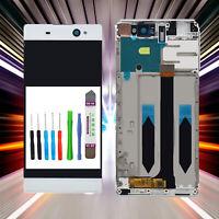 Display für Sony Xperia XA Ultra F3211 LCD TouchScreen Weiß +RAHMEN WHITE
