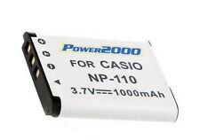 Battery for Casio NP-110 NP110 NP-110DBA NP110DBA EX-FC200S EX-Z2000 EX-Z2300
