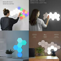 Quantum LED Lamp Touch Sensor Sensitive Hexagon Modular Room Decor Night Light