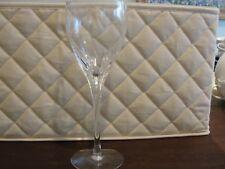 "LENOX FIRELIGHT 12 WINE GLASSES 7 7/8"""