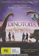 Dinotopia DVD BRAND NEW SEALED TV MINI-SERIES 4-HOURS R4