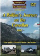 A Railfan's Journey on the Canadian 1987 2-DVD Set VIA