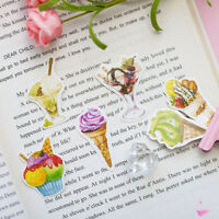 45pcs/pack Mini Ice-cream Decorative DIY Diary Album Stickers Cute Scrapbooking