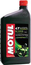 New listing Motul 5100 Ester/Synthetic Engine Oi L 10W-40 1Qt 3081Qta