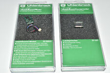 Uhlenbrock 32300 & 31101 Intellisound 3 Sound Modul & Lautspr. Wunschs. NEU &OVP