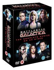 "BATTLESTAR GALACTICA COMPLETE SERIES COLLECTION 25 DISC DVD BOX SET R4 ""NEW"""