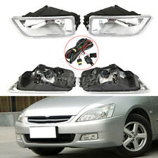 US Pair Front Bumper Car Driving Fog Lights Wiring Switch For Honda Accord 03-07