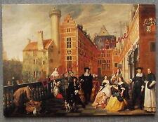 LANCELOT VOLDERS BRUSSELS FAMILY GROUP 1666  postcard