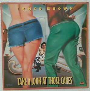 Album Vinyl - James Brown Take a look at those cakes- Polydor VG/VG
