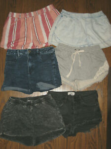 Lot womens shorts American Eagle XS forever 21 SolEmio universal thread