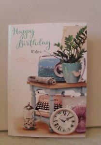 OPEN BIRTHDAY CARD