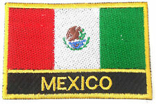 Mexico Embroidered Sew or Iron on Patch Badge