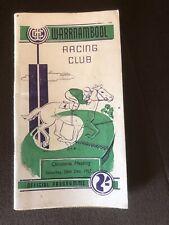 1957 Warrnambool Christmas Meeting Racebook