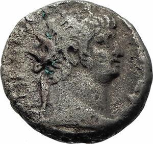 NERO Ancient 63AD Alexandria Egypt Tetradrachm Ancient Roman Coin SERAPIS i74880