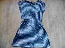 EDC by ESPRIT schönes gestreiftes Jerseykleid blau weiß Gr. M NEUw.  717