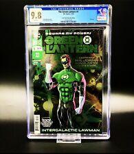 Green Lantern #1 LCSD Foil RARE 1:500 Local Comic Shop Day CGC 9.8 2019🎞🎥