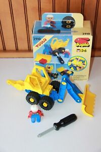 2x Lego Toolo Duplo Arms Stone Hook Yellow Connector Tow Truck 6295