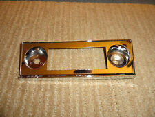 65 66 67 CHEVY CORVAIR NOS RADIO FACE PLATE/BEZEL SHIPPING CARTON NOT INCLUDED