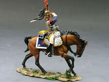 KING AND COUNTRY NA119 NAPOLEONICS SLASHING WITH SABRE  - RETIRED
