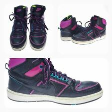Nike DELTA Lite BB Womens Shoes Sz 7 BasketBall 365949-002 Retro Look Black Pink