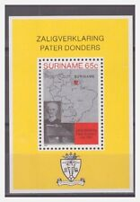 Surinam / Suriname 1982 Petrus Donders beatification selig sprechung S/S MNH