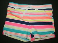 New Carter/'s Girls Summer Bright Striped Knit Shorts NWT 2T 3T 4T 5 6X 8 Pull on