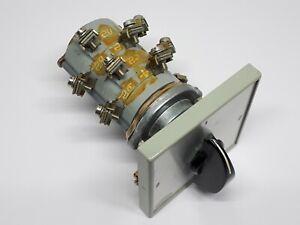 MEM Santon Rotary Switch Disconnector 16A 380V Part # RP 149A With Plate & Knob