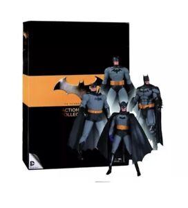 Batman 75th Action Figure Set DC Direct Bob Kane Jim Lee Darwyn Cooke Comic Art