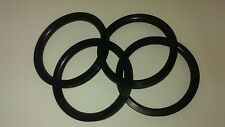 Pedal Car Parts   Set of 4 -6-1/2 inch Pedal Car Tire/ Round Tread