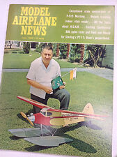Model Airplane News Magazine P-51D Mustang About Roar June 1968 041017nonr