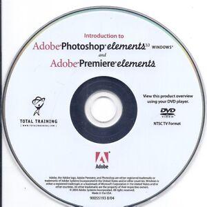 Total Training DVD - Adobe Photoshop Elements + Adobe Premiere Elements