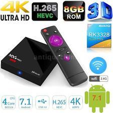 MX9 Pro Mini Android7.1 RK3328 TV Box Quad Core HD 4K 8G WiFi Internet Streaming