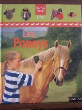 Mon Petit Monde/ Les Poneys/ Jackie Budd, Editions France Loisirs