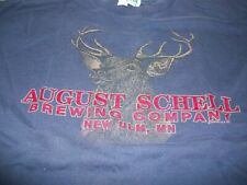 4 Schell's Beer Shirts, August Schell Brewery, Schells Beer, New Ulm, Minnesota